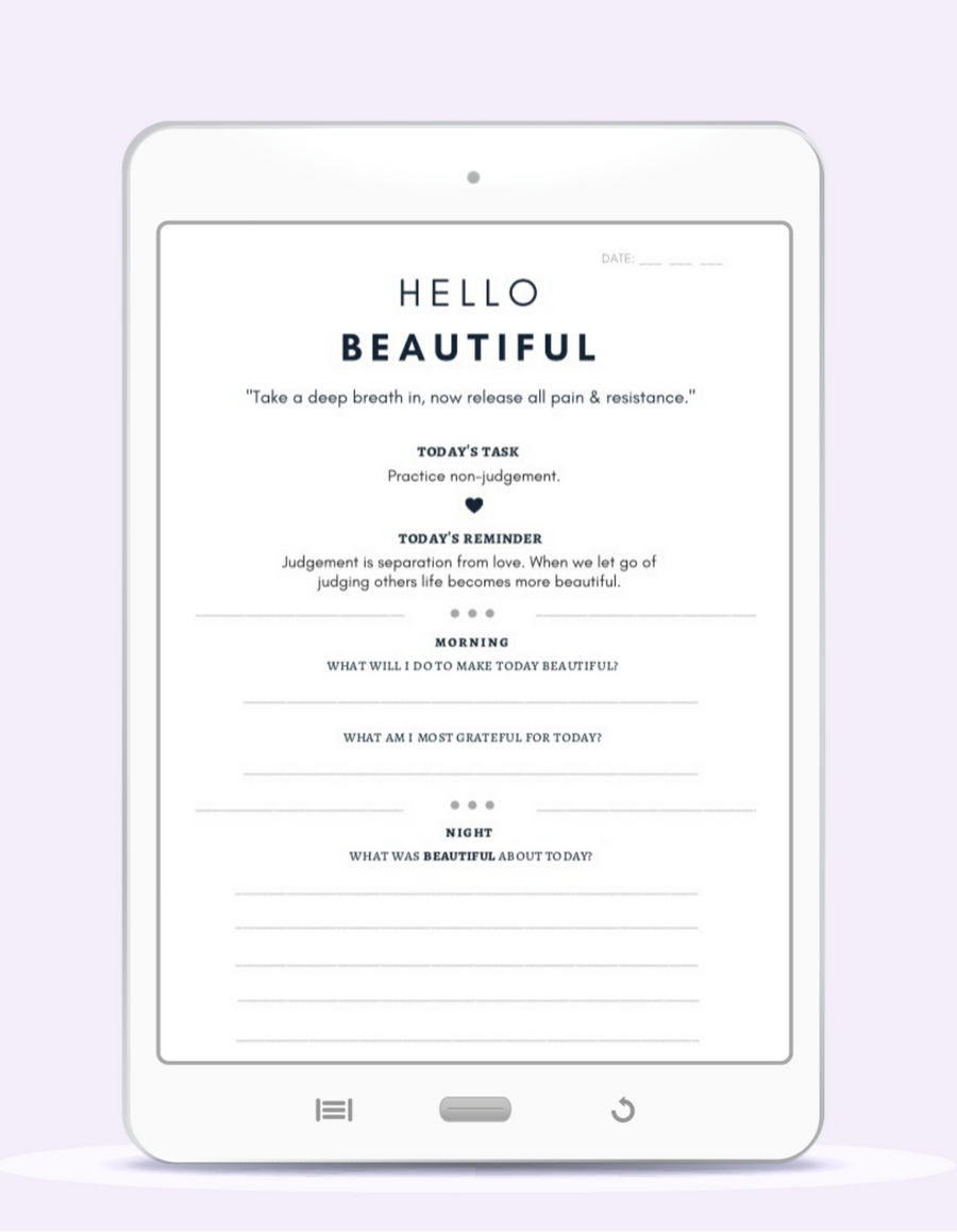 The Beauty Journal