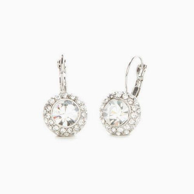 Diamond Austrian Crystal Earrings - Links & Charms