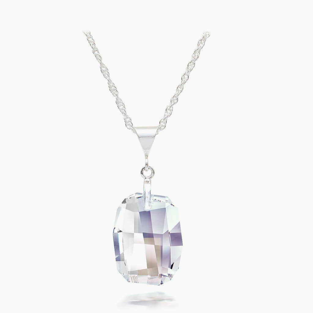 Diamond Austrian Crystal Necklace - Links & Charms