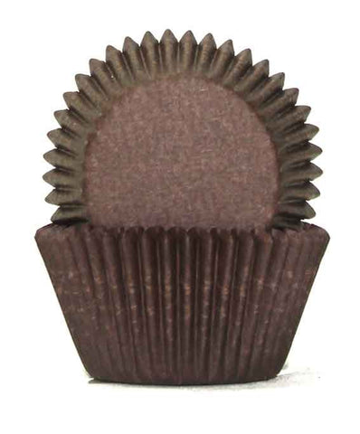 408 CHOCOLATE BAKING CUPS