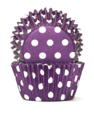 408 POLKADOT PURPLE B/CUP
