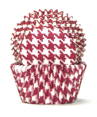 408 HOUNDS TOOTH RED B/CUP