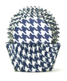 408 HOUNDS TOOTH BLUE B/CUP
