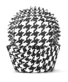 408 HOUNDS TOOTH BLACK B/CUP