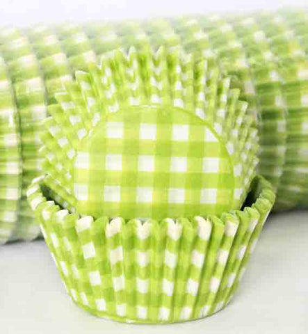 408 GINGHAM LIME/GREEN PATTY CAKE (500)