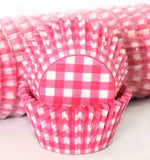 408 GINGHAM  - HOT PINK PATTY (500)