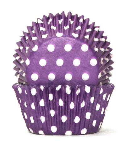 700 POLKADOT PURPLE B/CUP