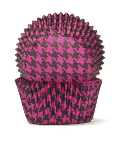 700 HOUNDS TOOTH BLACK/PINK BC