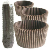 900 MUFFIN CASES - CHOCOLATE (500 PK)