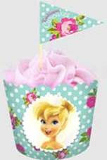 FAIRIES FLAT BAKING CUP & PICKS