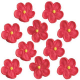 new SMALL 5 PETAL(200) RED