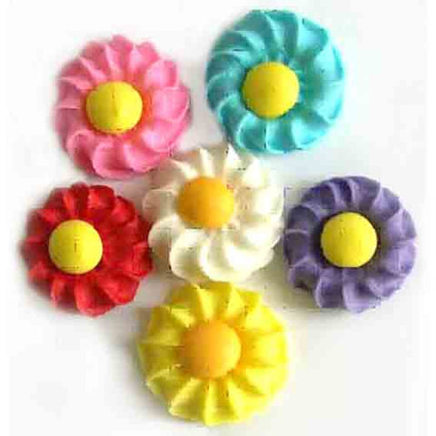 DAISY SWIRLFLOWERS (150)ASSORTED COL