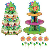 WILTON - JUNGLE PALS CUPCAKE STAND KIT