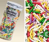 NATURAL RAINBOW SPRINKLES - 75g