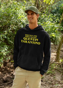 Men's Hoodie - Written and Directed by Quentin Tarantino