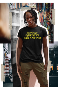 Men's T-shirt - Written and Directed by Quentin Tarantino