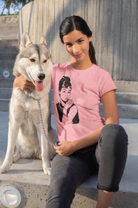 Audrey Hepburn - Women's short sleeve t-shirt