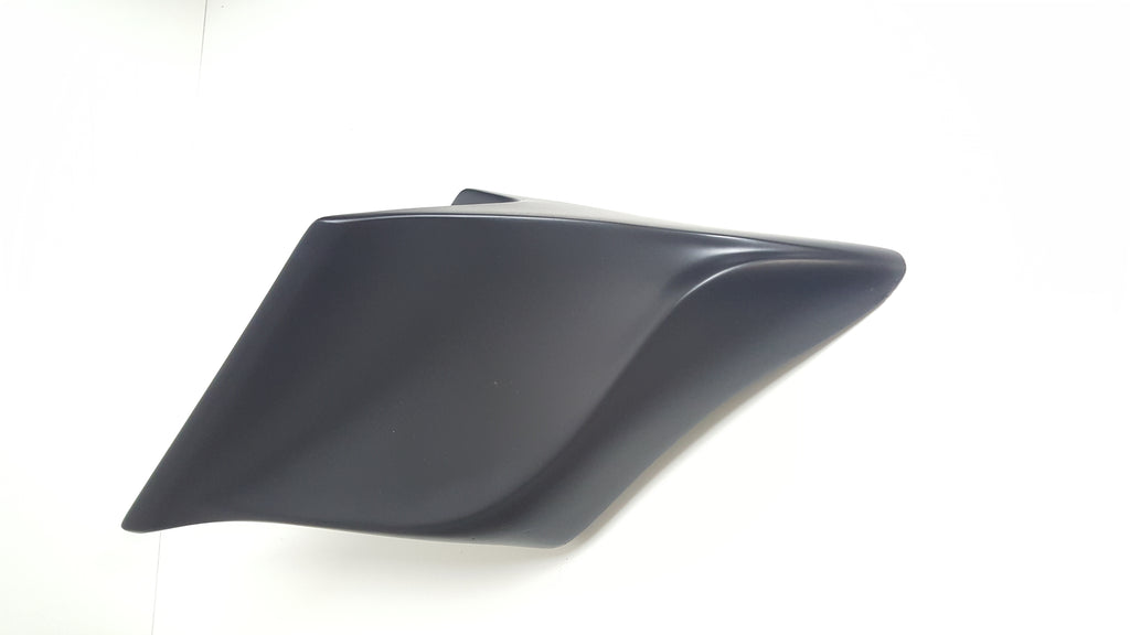 "Harley Davidson 4""  Extended Stretched Side Cover Panels for Touring Baggers 2009-2013"