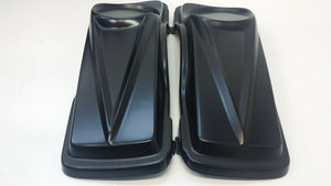 "Harley Lids 6 1/2"" #3 Speaker 4"" Saddlebags/ Fender Dual Cutout  Replacement"