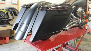 2014-15 Stretched Saddlebags Rear Fender Harley Davidson Street Glide