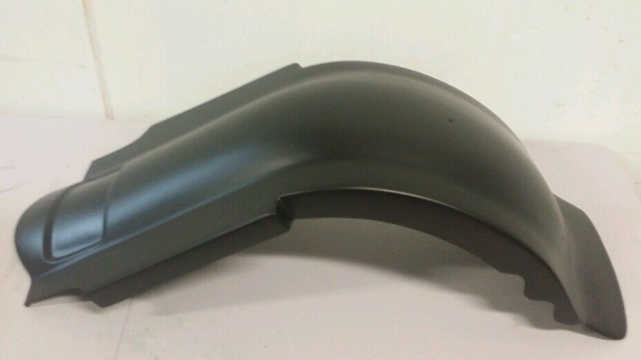 Harley Davidson Dual Exhaust Stretched/Extended Rear Fender