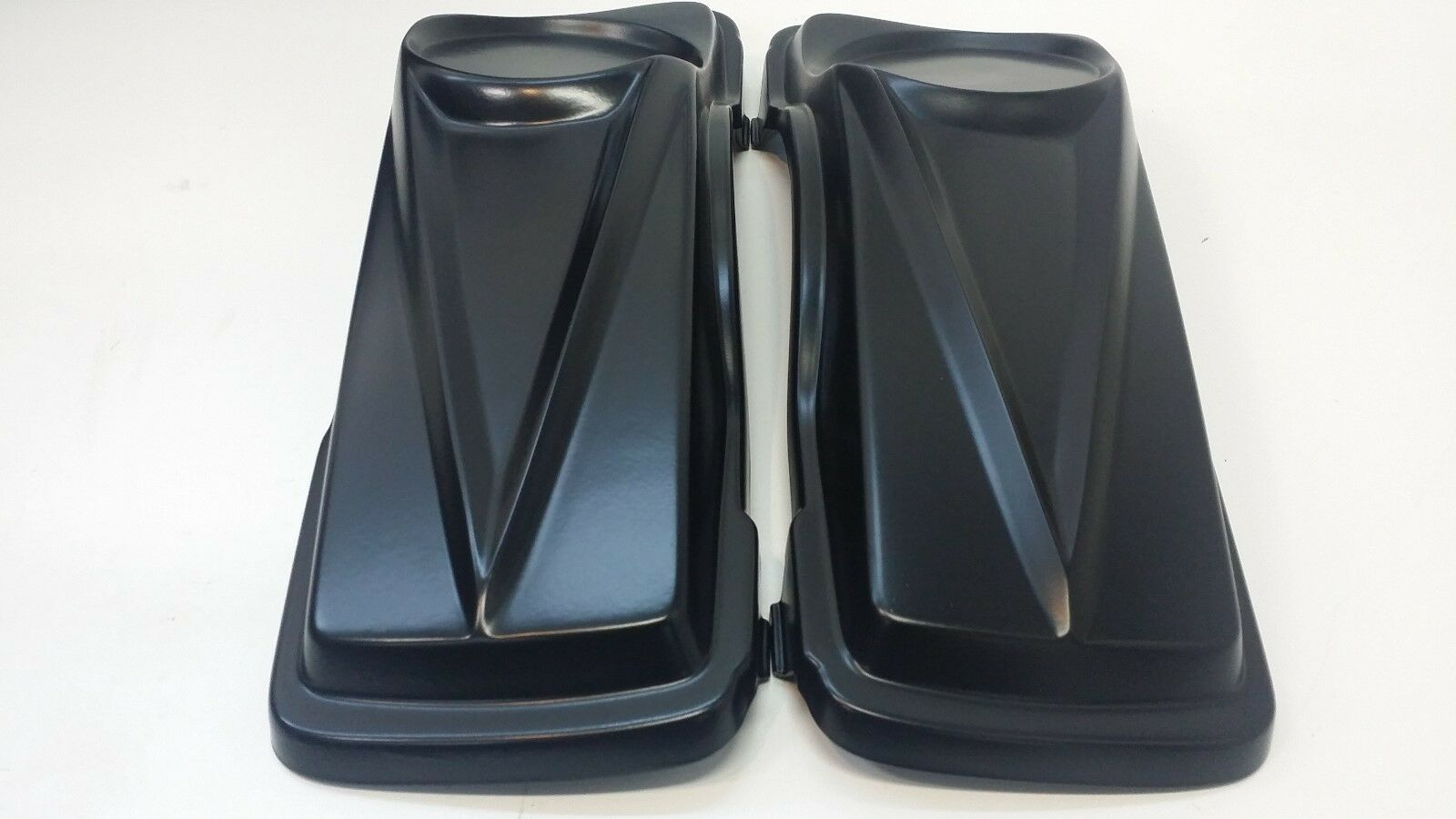 Harley Davidson Drop back Stretched Saddlbags Fender 6.5 #3 Lids Touring 97-08