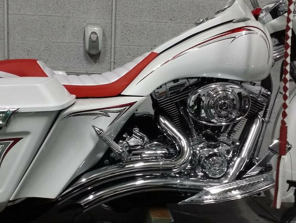 "6"" Stretched Extended Harley Davidson Side Covers  Flh"