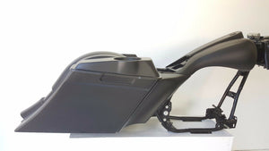 97-07 Harley Davidson Flh Bagger Touring Kit saddlebags fender tank side cover