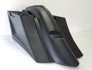 "2009-13 Long Sweep Saddlebags & Fender 6"" No Lids Harley Davidson Touring"
