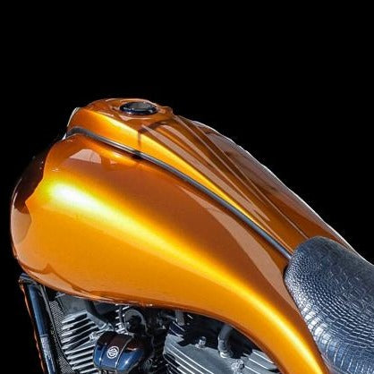 Harley Davidson Extended 6 Gallon tank Shrouds Flh Touring Bagger Cover