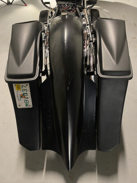 "Honda Vtx 1300/1800 Stretched 6"" Down 9"" Out Bagger saddlebags Fender"