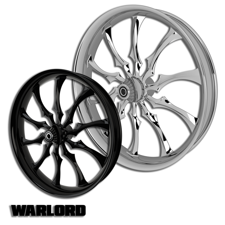 Warlord Custom Motorcycle Wheels
