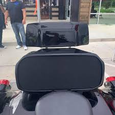 Harley Davidson Motorcycle Flh Competition Audio Bagger Tour Pack