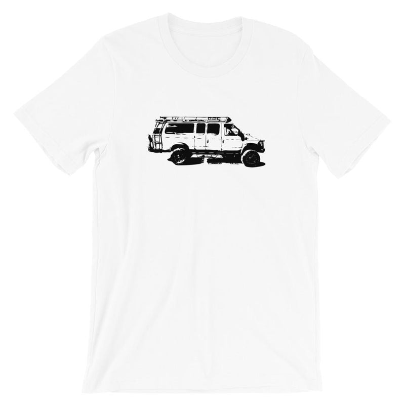 Adventure Mobile Tee Coyote Provisions Co White XS