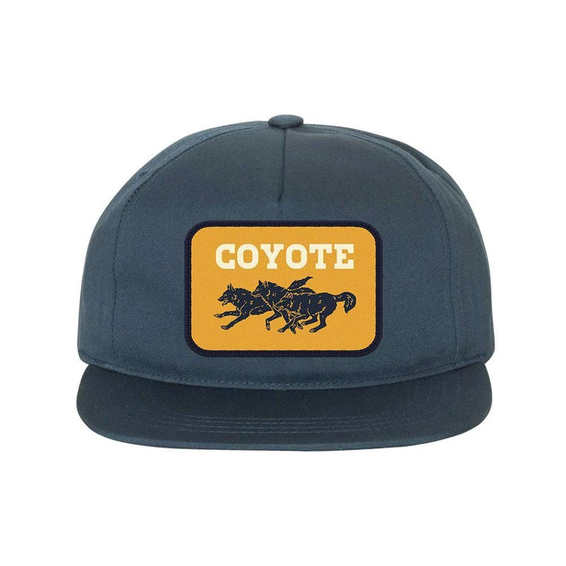 Coyote Run Snapback Navy Hats Coyote Provisions Co
