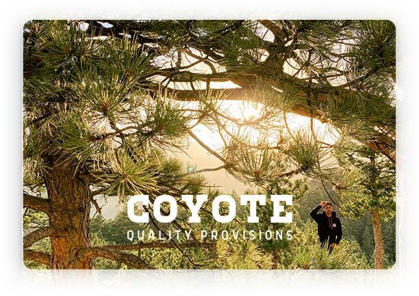 Coyote Provisions Gift Card