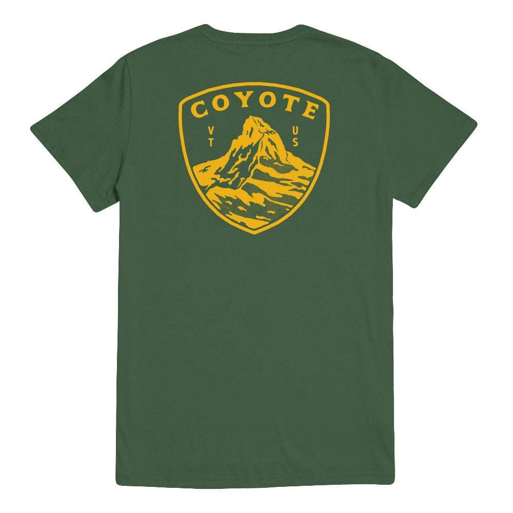 Green Mountain Boys Badge Tee Forest