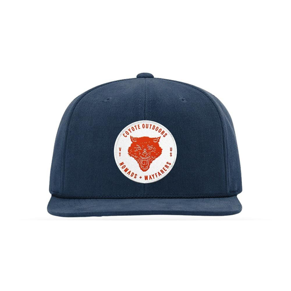 Nomads Corduroy Snapback Navy Coyote Provisions Co
