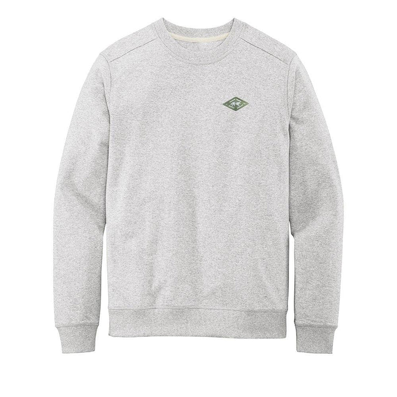 Recycled Crewneck Sweatshirt Heather Grey