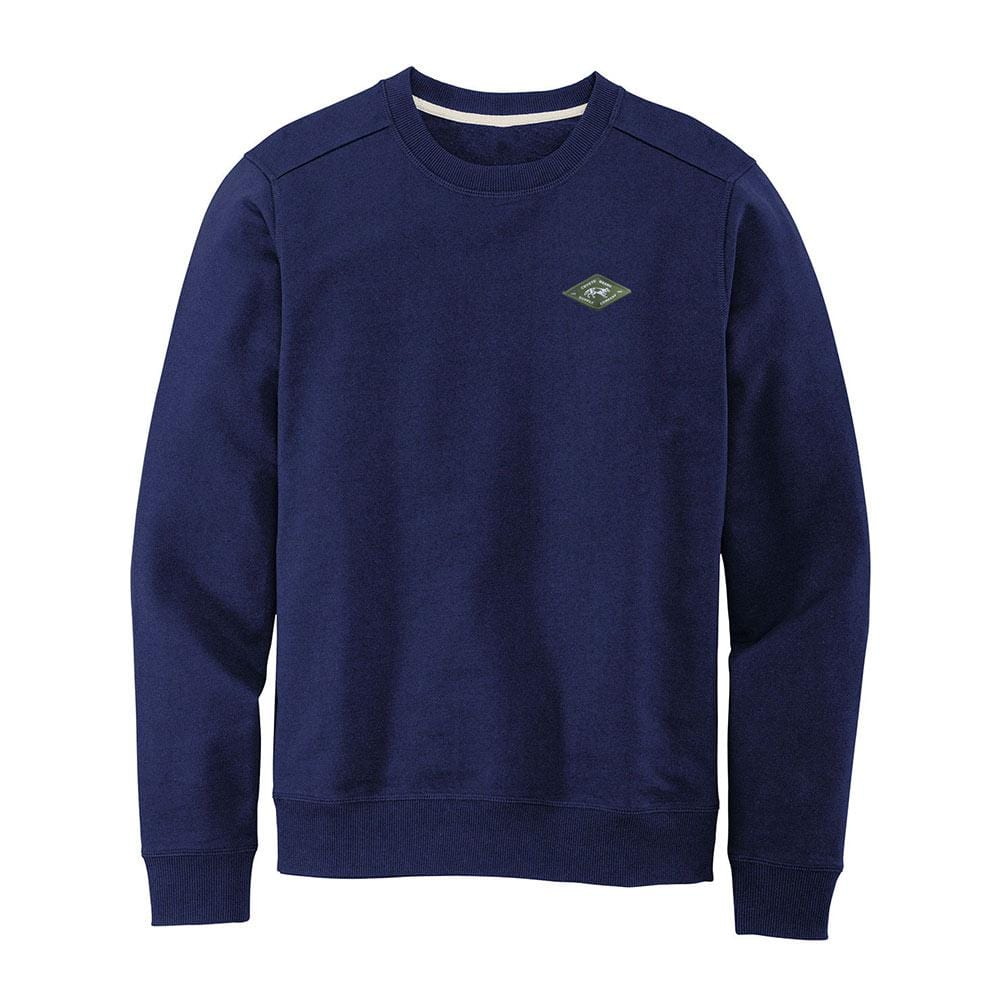 Recycled Crewneck Sweatshirt Navy