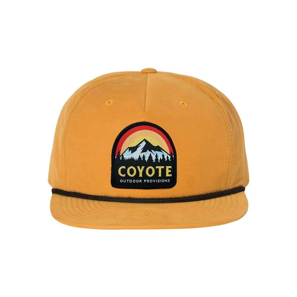 Sunset Mountain Nylon Rope Snapback Coyote Provisions Co