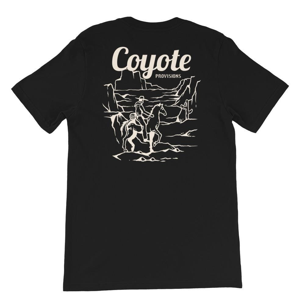 Sunset Riders Short-Sleeve Unisex T-Shirt Coyote Provisions Co