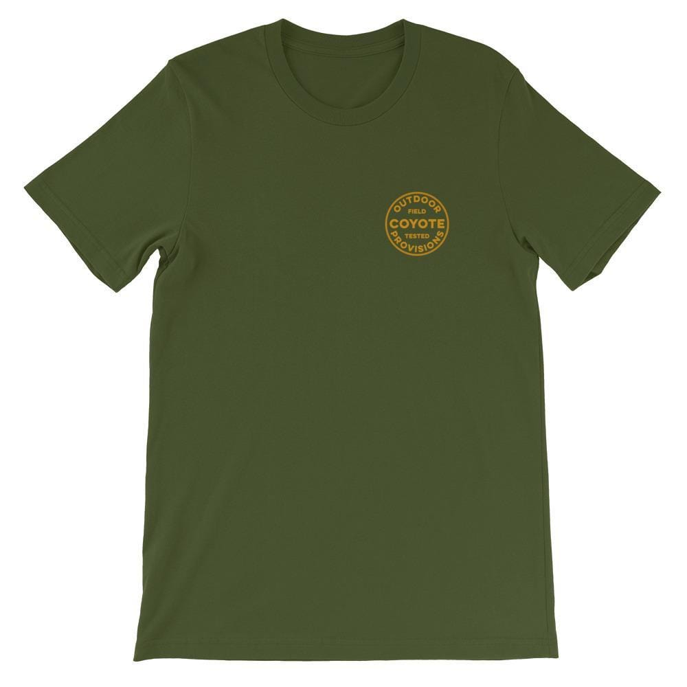 Wayward Ramblers Short-Sleeve T-Shirt Coyote Provisions Co Olive S