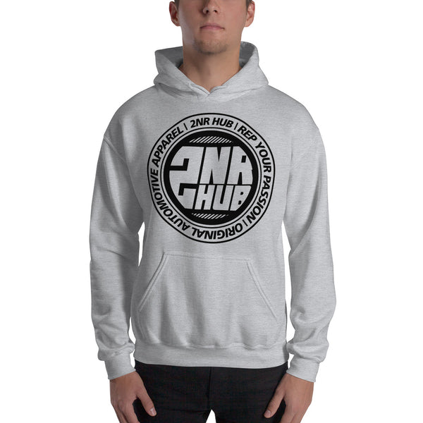 2nr Hub Slogan Hooded Sweatshirt