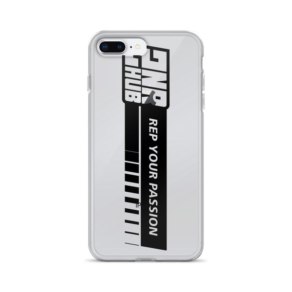 2nr Hub Rep Your Passion iPhone Case (All Models, Black Logo)