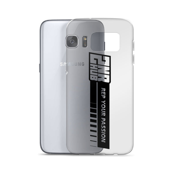 2nr Hub Rep Your Passion Samsung Case (All Models, Black Logo)