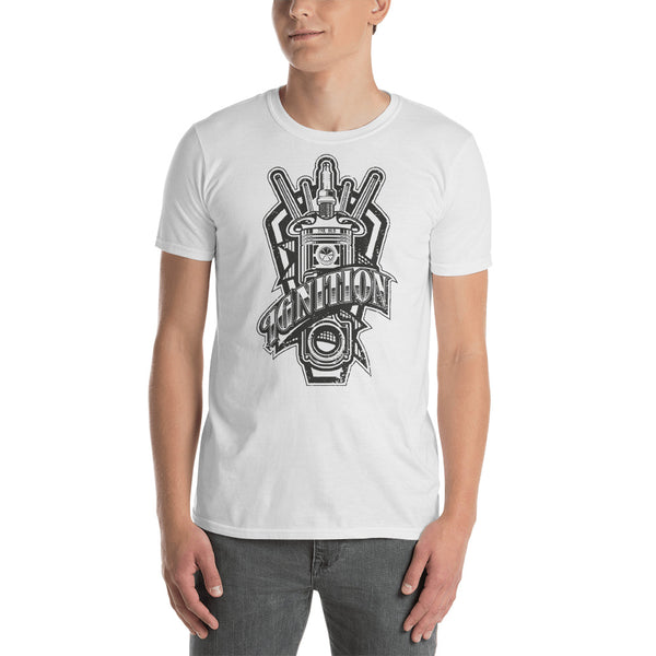 Ignition Short Sleeve Shirt (Grey Scratch Design)
