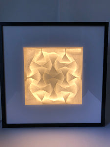 Quadilic LED Light Frame Lit