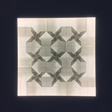 Load image into Gallery viewer, Propellers Tessellation (53 x 53 cm)