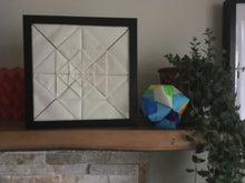 Load image into Gallery viewer, Origami Tessellation LED Light Frame